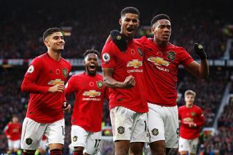 Chấm điểm M.U 3-0 Brighton: Ngày của Martial