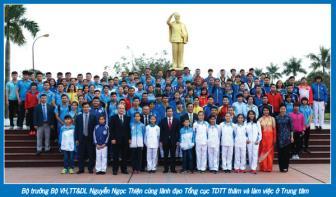 """Giám đốc TTHLTTQG Hà Nội Nguyễn Mạnh Hùng: Nghề """"Bạc - nhưng vẫn vui!"""""""