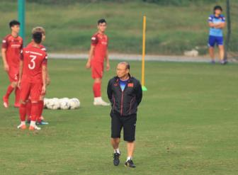HLV Park Hang Seo chia tay 5 tuyển thủ ở ĐT Việt Nam