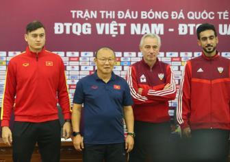 HLV Park Hang Seo khẳng định UAE sẽ chơi tất tay tại Mỹ Đình