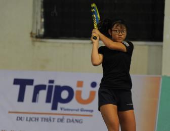 Nguyễn Minh Thúy Hằng vô địch nội dung đơn nữ U16 giải VTF Junior...