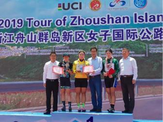Nguyễn Thị Thu Mai giành áo vàng giải xe đạp Trung Quốc đẳng cấp thế...