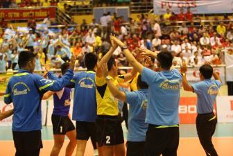 Sanest Khánh Hòa ghi tên mình vào chung kết cúp Hùng Vương 2019