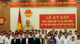 Sau bóng đá Nam bầu Hiển giải cứu CLB nữ Thái Nguyên