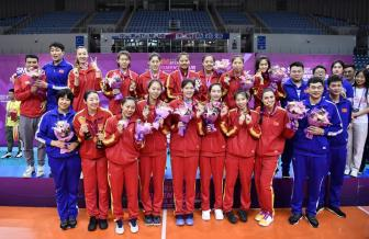 Thiên Tân Trung Quốc vô địch giải bóng chuyền các CLB nữ châu Á 2019
