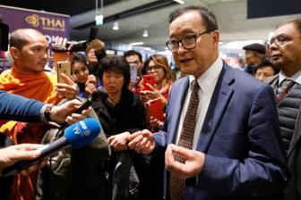 Thủ lĩnh phe đối lập Campuchia bị chặn đường trở về