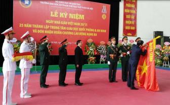 Trường ĐHSPTDTT Hà Nội kỷ niệm ngày Nhà giáo Việt Nam và đón nhận...
