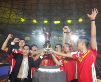 Tuyển Việt Nam vô địch Liên quân Mobile thế giới