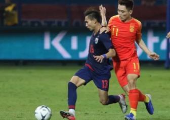 U22 Thái Lan thua U22 Trung Quốc trước thềm SEA Games 30