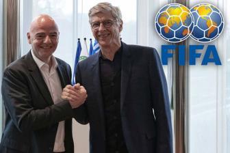 """Wenger chính thức tái xuất về làm """"sếp"""" tại FIFA."""