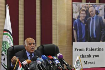Xúc phạm Messi lãnh đạo Palestine bị phạt nặng